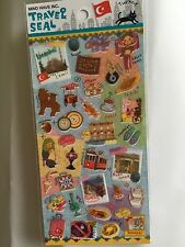 Turkey Travel Sticker Holiday Scrapbook diary Cardmaking Diy Istanbul Turisk