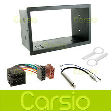 VW Lupo 1999 - 2005 Double Din Fascia Panel Surround Stereo Adaptor Fitting Kit
