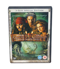 Pirates Of The Caribbean Dead Man's Chest 2-Disc Set DVD As New & Sealed