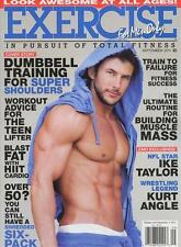 Exercise for men only Magazine 9/11 muscles LAYTON DRAPER