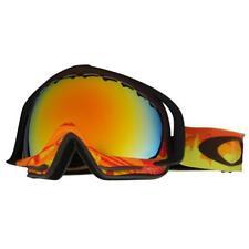 Oakley 59-171 Crowbar Shockwave Fire w/ Fire Iridium Lens Mens Snow Ski Goggles