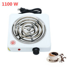 Electric Single Hot Plate Burner 1100 Watt Cooking Stove Commercial Portable