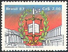 BRASILE 1987 SCALE/Law & Order/GIUSTIZIA/Giudici/BOOK/Laurel/edifici 1v (n25116)