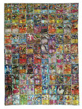 Hot ! New Pokemon TCG : 100 FLASH CARD LOT RARE 20 MEGA+80 EX CARDS NO REPEAT 24