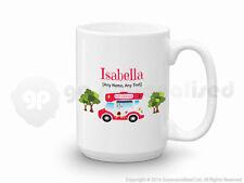 Personalised Gift Ice Cream Van Large Mug Cone Scoop Driver Vendor Present #3
