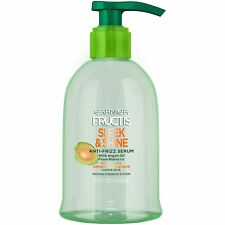 Garnier Fructis Sleek & Shine Anti-Frizz Serum, Frizzy, Dry, Unmanageable Hair,