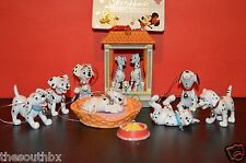 NEW Disney 101 Dalmations Christmas Ornament set 10 pc Pongo Perdita