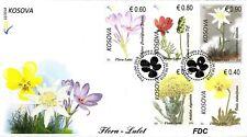 Kosovo Stamps 2018. Flora, Flowers. FDC Set MNH