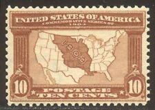 U.S. #327 Mint Beauty - 1904 10c Louisiana ($125)