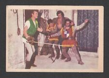 Ivanhoe Roger Moore 1958 TV Series Scarce Card from Germany C
