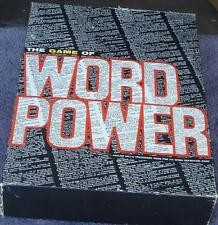 The Game of Word Power - Gently Used Board Game - Complete in Original Box - VGC