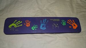 Vtg 80s IBM Networking Systems Mouse Wrist Hands Pad NetView Association Digital