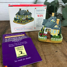 """Liberty Falls Americana Collection """"Handy Andy"""" Malloy's House - Ah128 - 1997"""