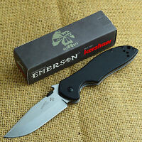 Kershaw Emerson CQC-6K 8Cr14MoV Stonewash Tactical Folding Knife 6034