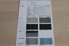 147482) Subaru Libero Justy Travel - Farben & Polster - Prospekt 10/1992