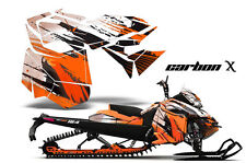 AMR Racing Sled Wrap Ski Doo Rev XM Snowmobile Graphics Kit 2013-2014 CARBON X O