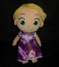 "12"" DISNEY STORE BABY PRINCESS RAPUNZEL TODDLER STUFFED ANIMAL PLUSH TOY DOLL"