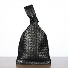 BOTTEGA VENETA 2200$ BV Twist Clutch Bag Intrecciata Nappa Leather