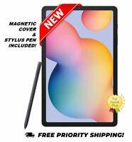 "NEW! Samsung Galaxy Tab S6 Lite 10.4"", 64GB Wi-Fi Tablet Stylus Pen Cover Bundle"