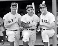 Mantle Maris Berra Photo 8X10 - New York Yankees Bronx Buy Any 2 Get 1 FREE