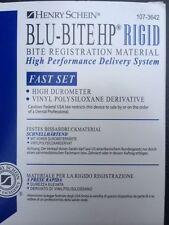 Dental Blu Bite Hp Fast Set Rigid 2x50ml Bite Registration Same As Blu Mouss