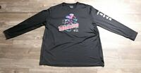 Walt Disney World Marathon Shirt 2015 Sz: 2XL Mens Champion Dry Fit Long Sleeve