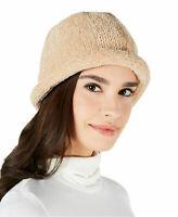 August Hats Women's Chenille Roll-up Hat (Tan)