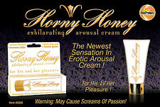 Horny Honey Stimulating Arousal Cream