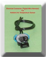 2 Wires Electrical Connector of Ambient Air Temperature Sensor AX83 Fits: GM