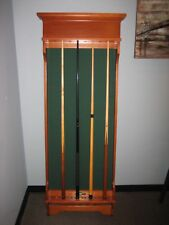 MISSION WALL CUE RACK - BRUNSWICK BILLIARDS - THE GAME ROOM STORE - N.J. 08742