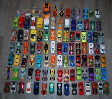 Lot of 100 Diecast Cars and Trucks Hot Wheels