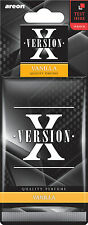 NEW Car Air Freshener Areon X Version Vanilla Scent Quality Car Perfume