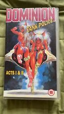 dominion tank police Anime Vhs Acts 1/2