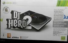 Microsoft Xbox 360 DJ HERO Turntable-Controller mit 2 Spielen