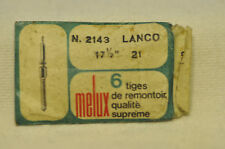 Tiges de remontoir Lanco 17 1/2 cal.21