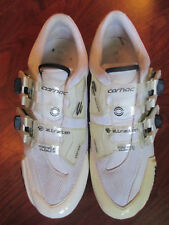 CARNAC ATTRACTION CARBON ROAD CYCLING SHOES MAGNETIC CLOSURE WHITE SIZE 42 US 9