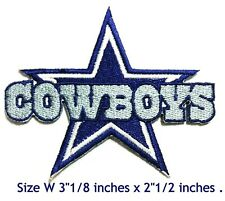Dallas Cowboys Football NFL Sport Embroidery Patch logo iron,sewing on 8x6.5cm