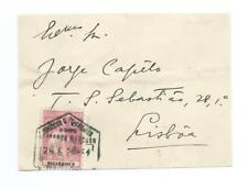 MOZAMBIQUE: Cover fron to Portugal 1908.