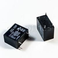US Stock 10pcs Power Relay SPST 5A 250VAC/30VDC JZC-32F-024-HS