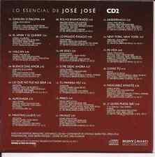 rare CD 70's 80's JOSE JOSE amar y querer PAYASO new york SI ME DEJAS AHORApreso
