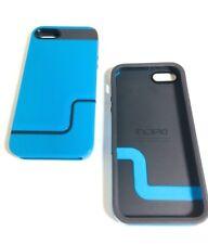 2 Cases Lot Incipio EDGE PRO Case For iPhone 5/5s/SE Blue/Charcoal Gray,New,Bulk