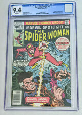 Marvel Spotlight 32 CGC 9.4 Newsstand White Page 🔥 🔑 1st Spider-Woman