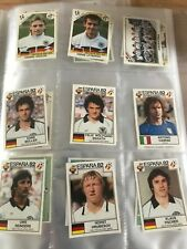 9 x Panini - World Cup Story - Italia '90 & Espana Stickers good condition