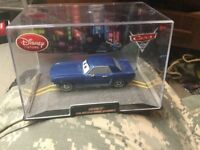 Disney Pixar Brent Mustangburger Cars 2 Die Cast Car in Collector Case