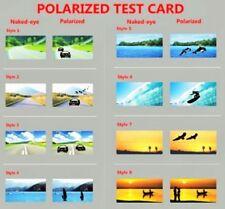 MEN LADIES POLARISED POLARIZED SUNGLASSES SHADES TEST CARD SKI FISH RUN. 5 CARDS