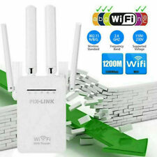 WiFi Extender Signal Range Booster Wireless Dual Band Network Repeater 1200Mps