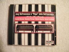 JOEY DeFRANCESCO & PAPA JOHN - All In the Family - CD HIGHNOTE - Jazz Organ