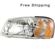 Halogen Head Lamp Assembly Driver Side Fits 2000-2002 Hyundai Accent HY2502123