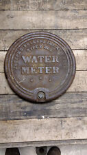 """Water Meter Covers Cast Iron 15"""" New York City"""