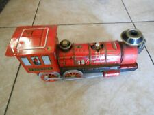 Modern toys Japan  from 1950 battery tin train